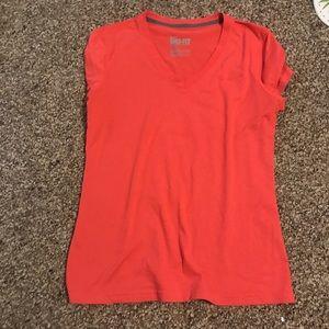 Bright Orange Nike dry fit tee size medium